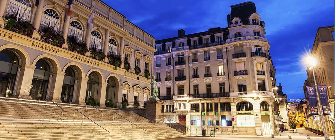 Ville de Saint Étienne.