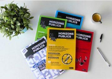 Exemplaires de la revue Horizons publics.