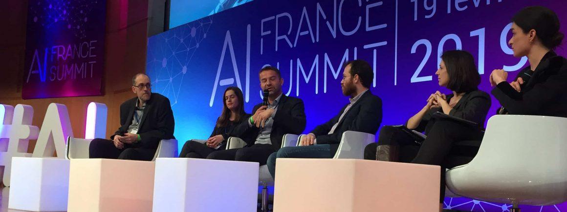 Table ronde lors de l'AI France SUMMIT 2019