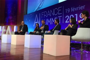 Table ronde lors de l'AI France SUMMIT 2019
