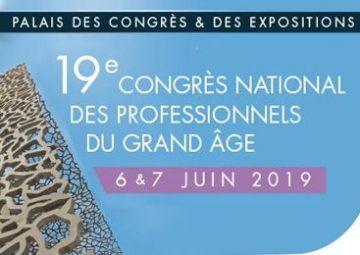 19e Congrés National des Professionnels du Grand Âge