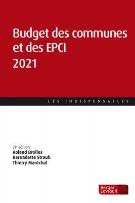 Ouvrage Budget des communes et des EPCI 2021.