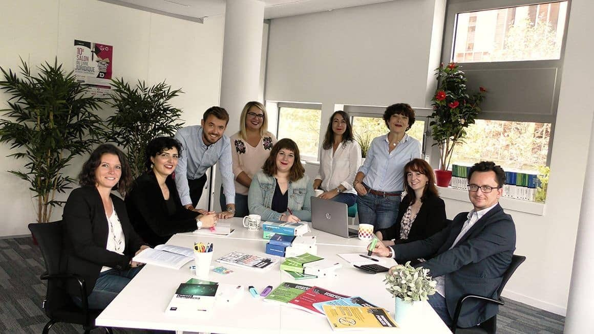 Photo de l'équipe éditoriale Berger-Levrault.