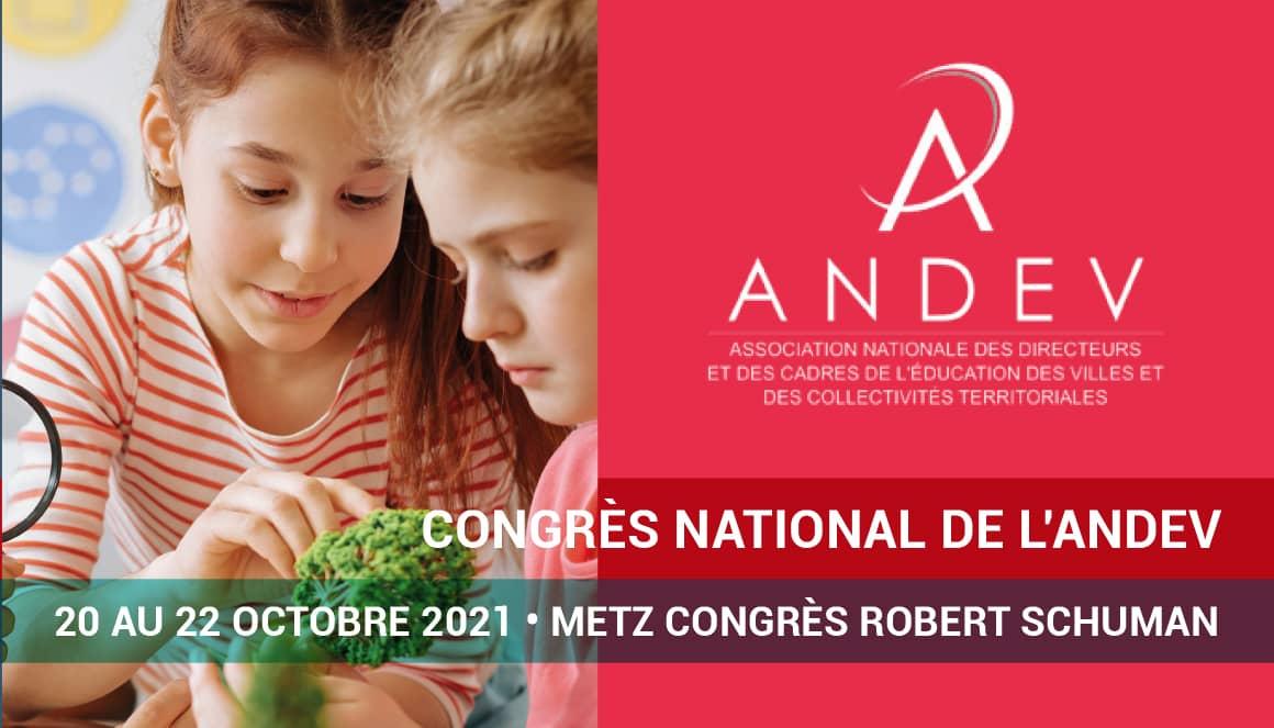 Congrès national de l'ANDEV 2021.