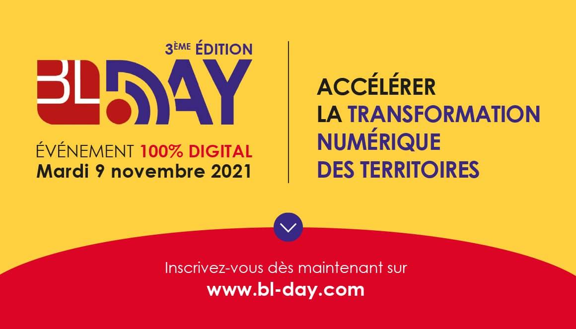 BL Day sur la transformation numérique des territoires.