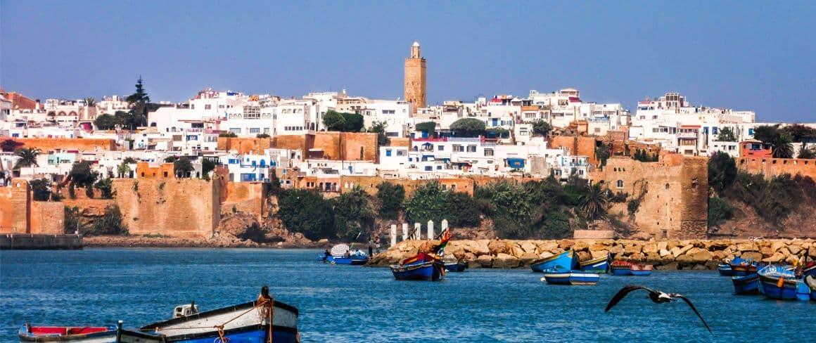 Ville de Rabat.