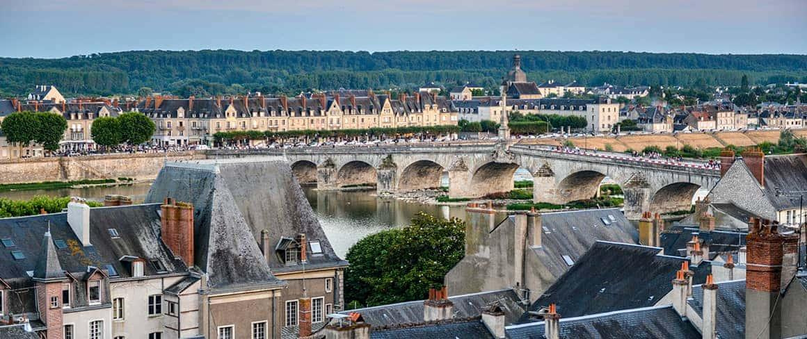 Ville de Blois.