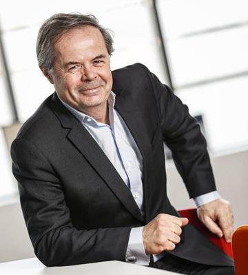 Pierre-Marie Lehucher, Président-Directeur Général.