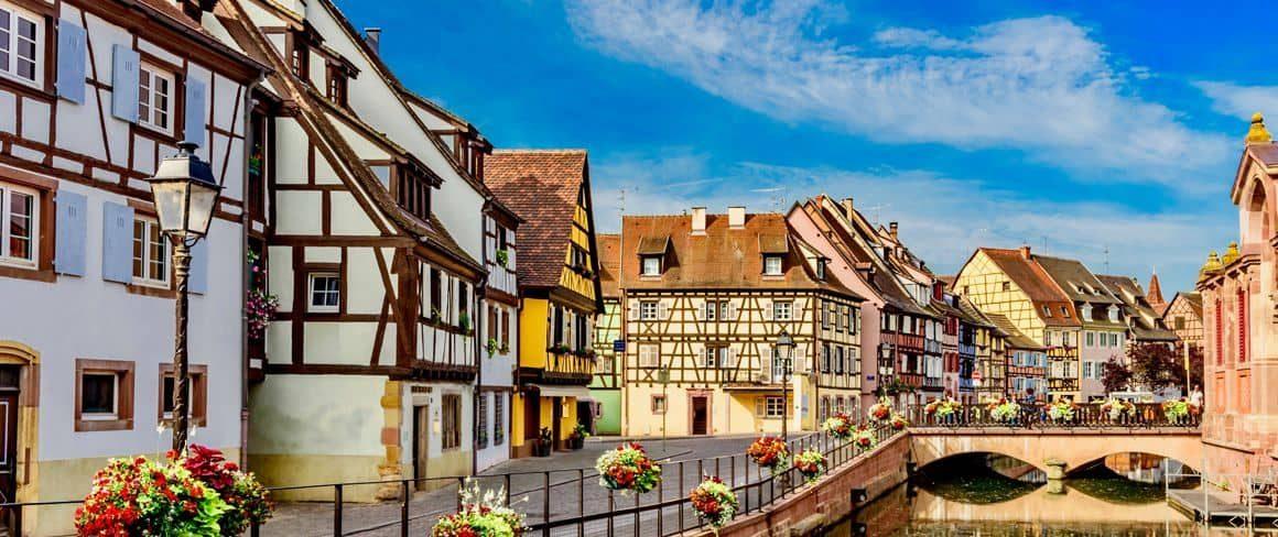 Ciudad de Horbourg-Wihr.