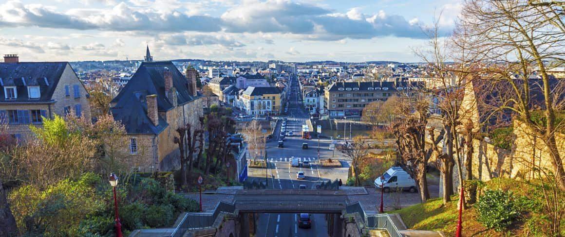 Ciudad de La Ferté-Bernard.