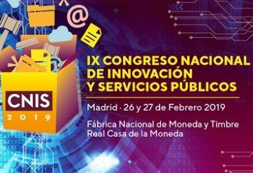IX Congreso Nacional de Innovación y Servicios Públicos.