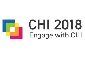 Logo CHI 2018 Montréal.