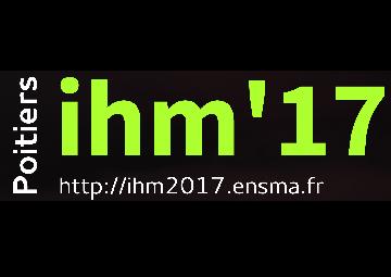 Logo IHM 2017 Poitiers.